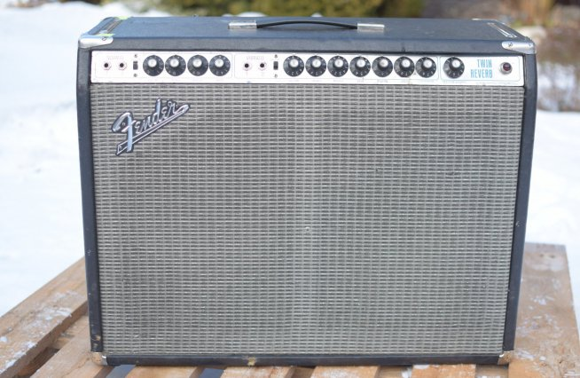 Fender Twin Reverb  (Silverface)